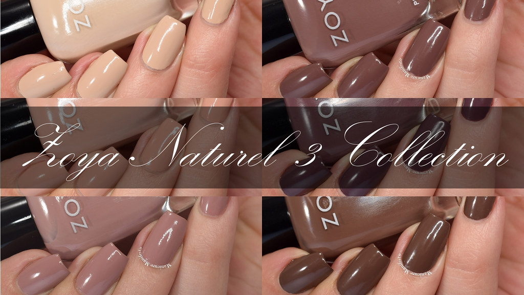 Zoya Natural 3 collection swatch