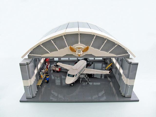 Aircraft Hangars - Aéroport et hangar à avion