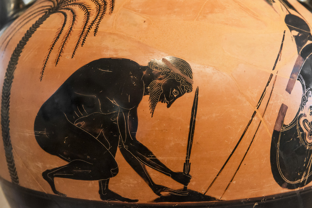 Aithiopis Xi Ajax Suicide By Exekias Ajax And Odysseus G Flickr