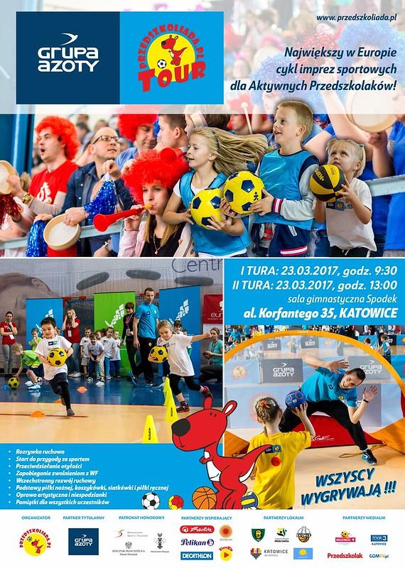 plakat Azoty PTour2017 Katowice
