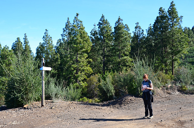 New signpost, La Orotava, Tenerife