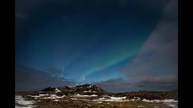 Aurora Borealis - neshraun - Iceland