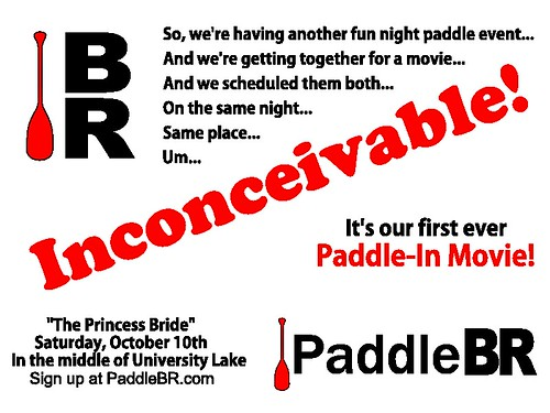 Paddle-In Movie announcement.