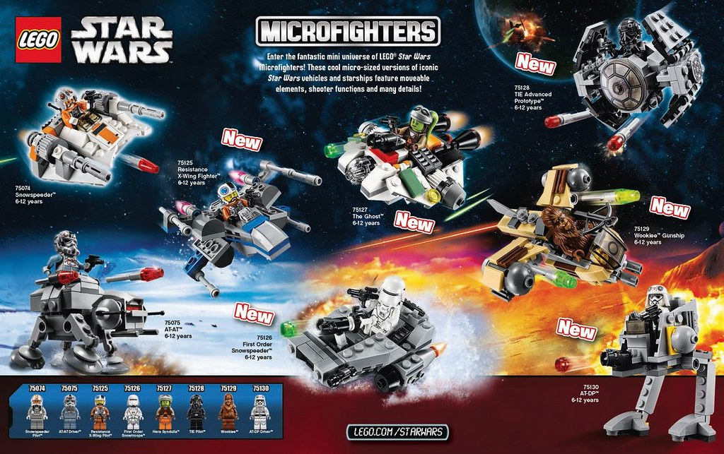 LEGO Star Wars Microfighters 2016 | Visit neoape.com for ...