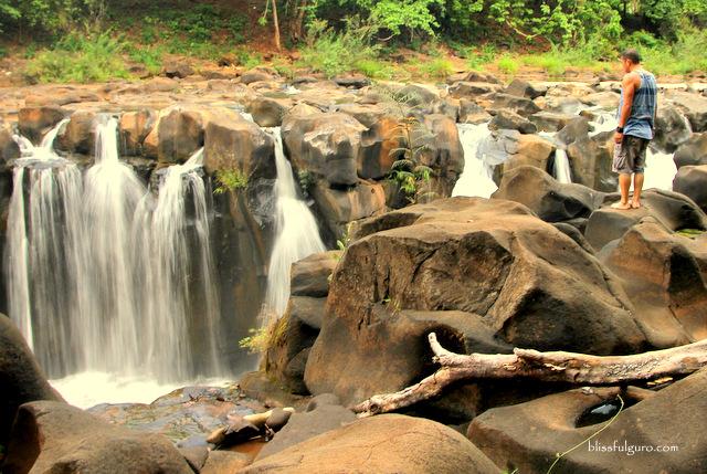 Tad Pha Suam Waterfalls Champasak Laos