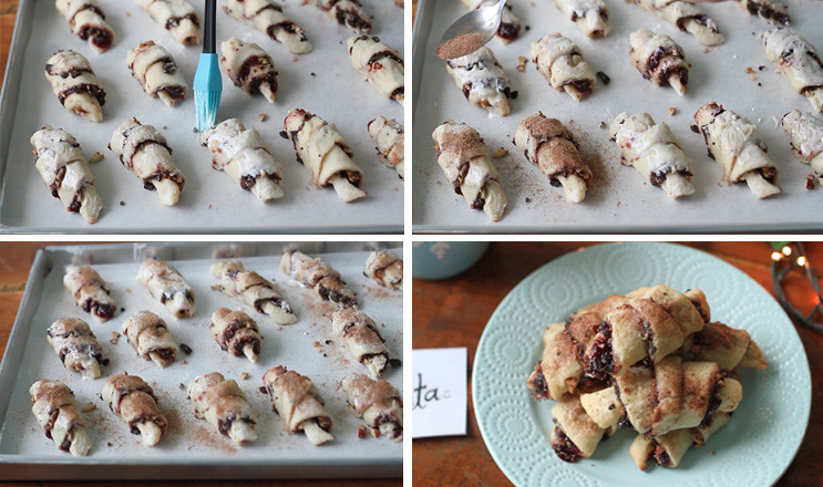 23685171965 36a5d6e9d1 b - A different cookie for Santa this year with this Cherry, Chocolate, Almond Rugelach Recipe [VIDEO]