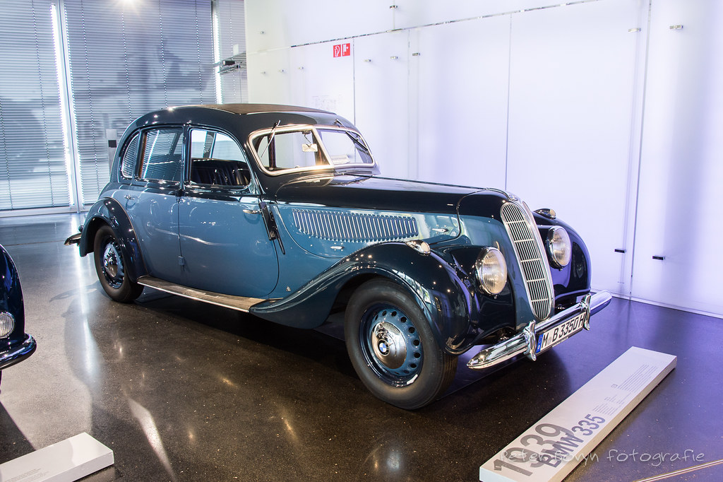 BMW 335 Saloon - 1939 | 1939 - 1941 The BMW 335 was the comp… | Flickr