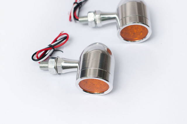 Aluminium CNC Bullet LED Indicators