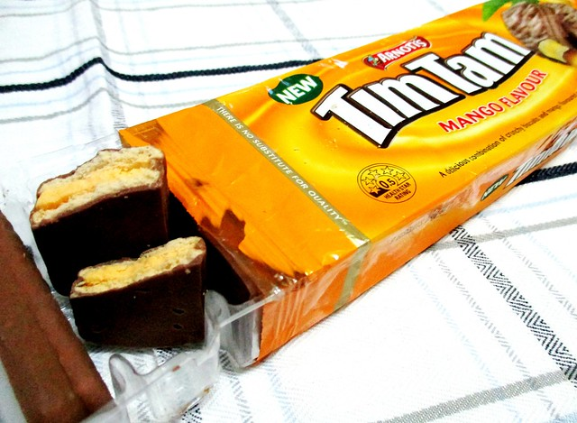 New Tim Tam mango flavour