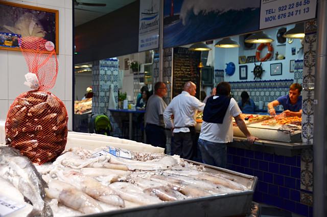 Fish market, la ría, La Recova, Mercado Nuestra Señora de Africa, Santa Cruz, Tenerife