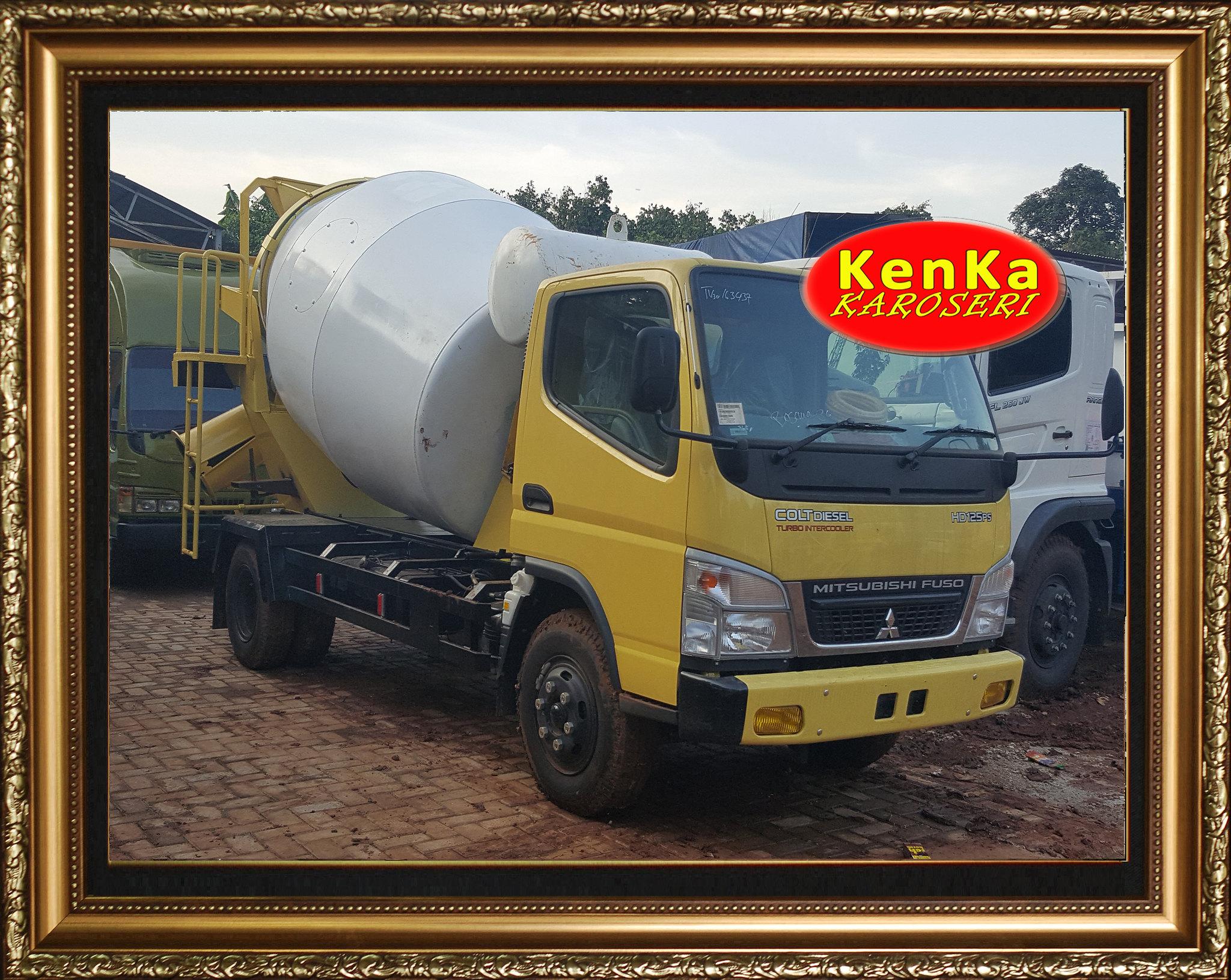 Karoseri Truck Mixer Mitsubishi - 17