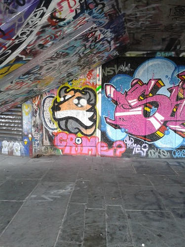 Fox Street Art at South Bank Skate Park