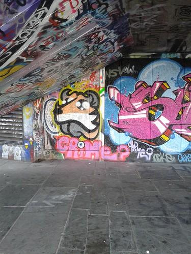 Fox Street Art at South Bank Skate Park