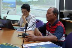 基翬部落族人楊尚次表達開發對當地環境的影響