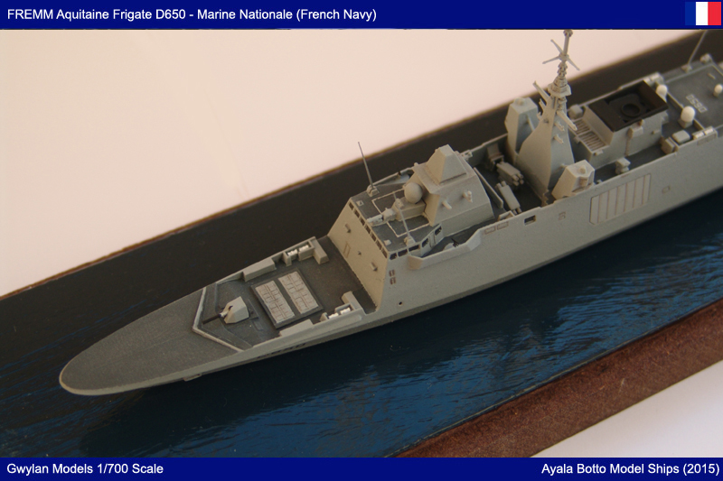FREMM Aquitaine D650 Frégate ASM - Gwylan Models 1/700 par Ayala Botto 23024249961_a79cc89c7c_o