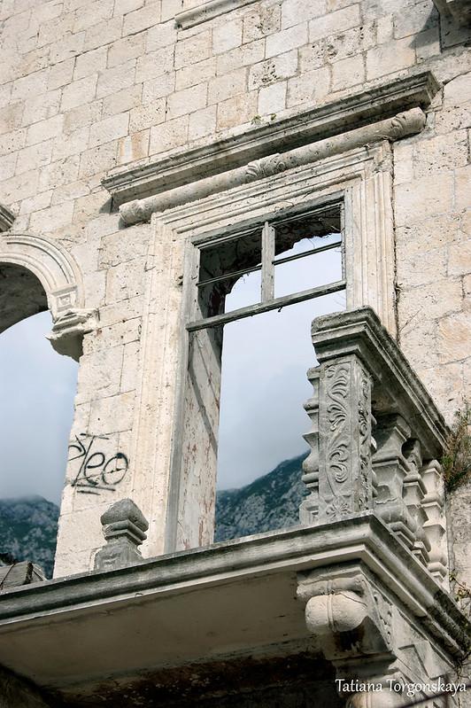 Фрагмент балкона