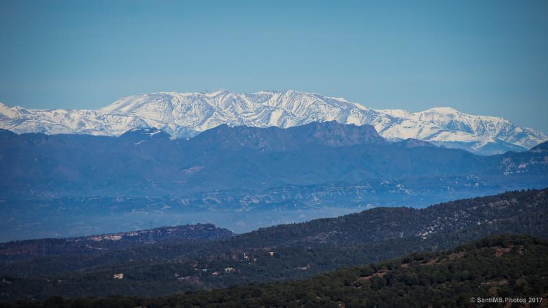 El Canigó y la Cordillera Transversal