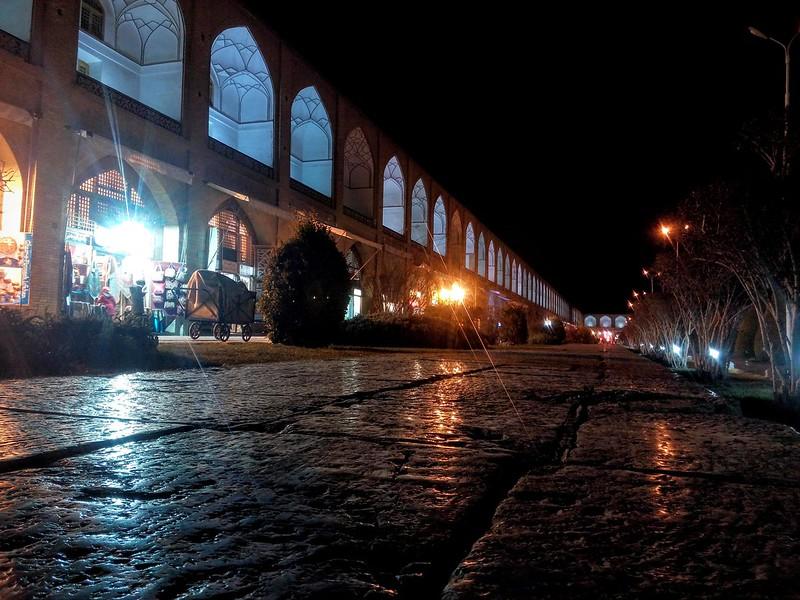 Площадь Имама ночью