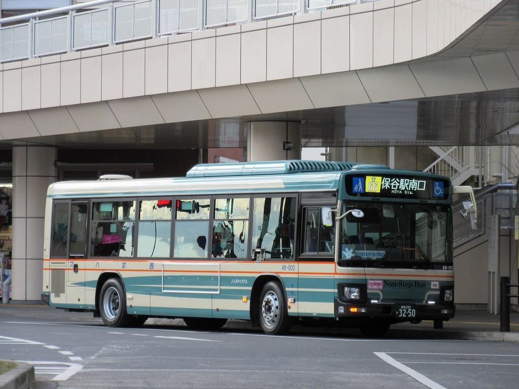西武バス | 保谷駅南口にて 吉66...
