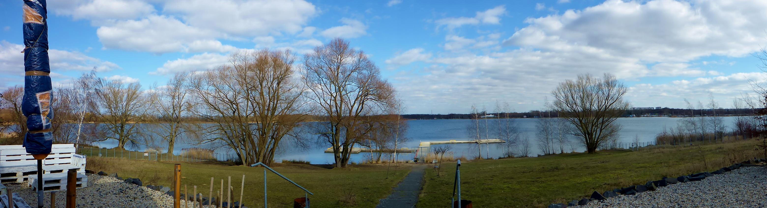 Februar 2017 am Kulkwitzer See