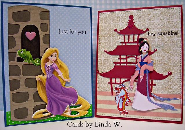 Rapunzel and Mulan