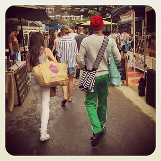 Market Struttin #saturdaystyle #atbondi #bondi #farmersmarket #weekend #life #lovemyhome | by andy@atbondi