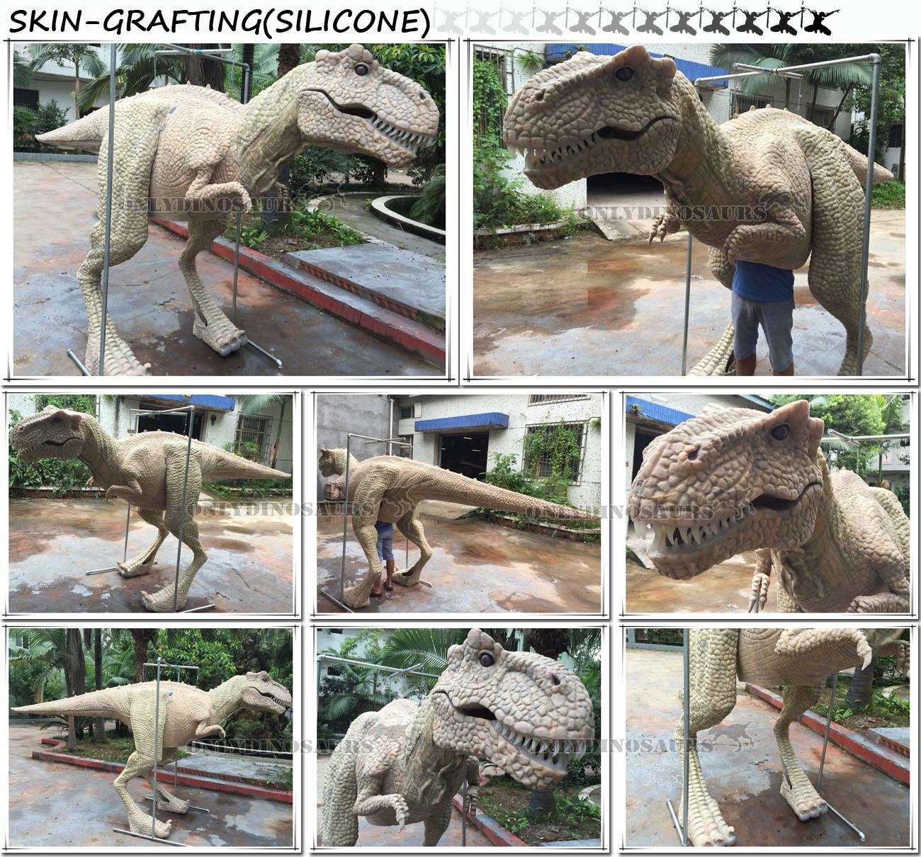 Dinosaur Costume-Skin Grafting