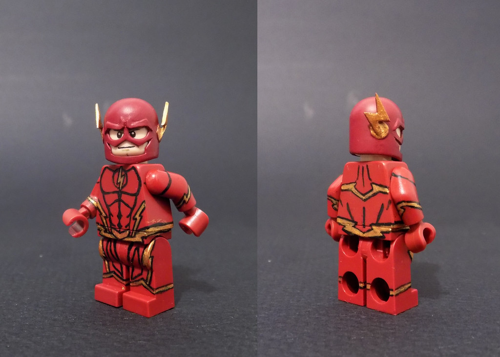 How to make the Flash(Barry Allen)(MOD) - LEGO Marvel's Avengers ...