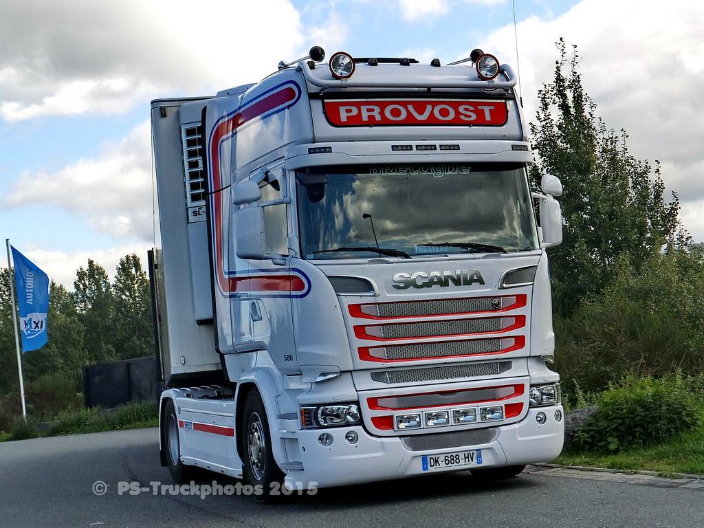 Célèbre SCANIA R580 V8 Streamline Topline - Provost - DK-688-HV - … | Flickr DP14