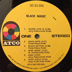 BLACK MAGIC!:WHERE LOVE IS(LABEL SIDE-A)
