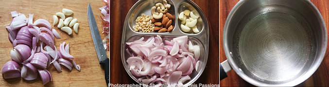 How to make Shahi paneer recipe - Step1