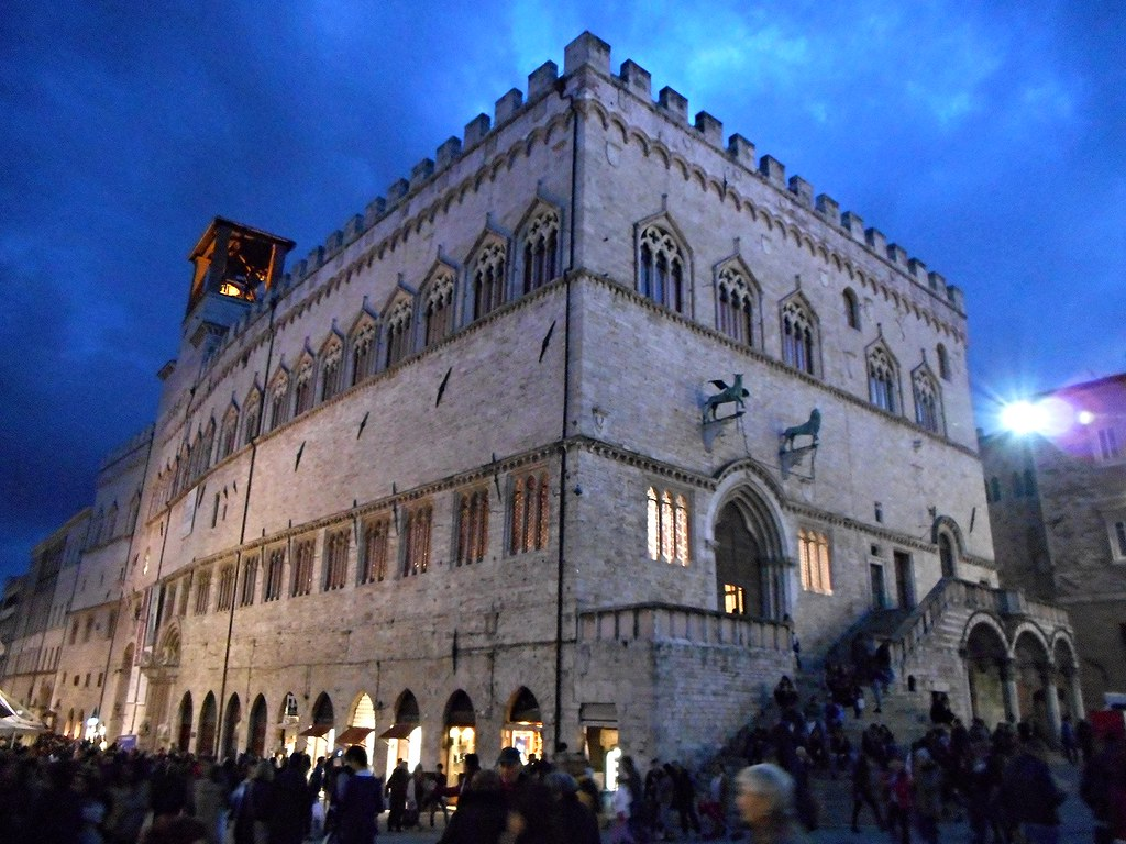 Palace of Priors at Perugia (between 1293 and 1353)