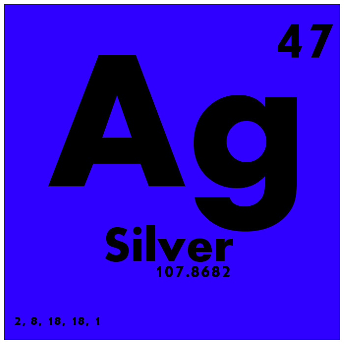 047 silver periodic table of elements watch study guide flickr 047 silver periodic table of elements by science activism urtaz Gallery