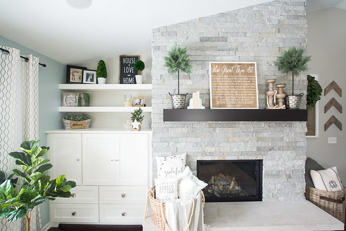 Living Room Fireplace | Grace In My Space