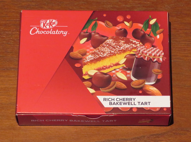 London Kit Kat Chocolatory - Rich Cherry Bakewell Tart