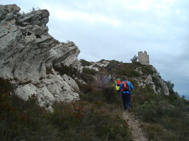 2017-01-22 Ruta circular de La Riba al Puig Cabrer i Serra de Les Guixeres