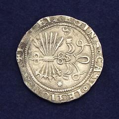 Savilla Spain Silver Real obverse
