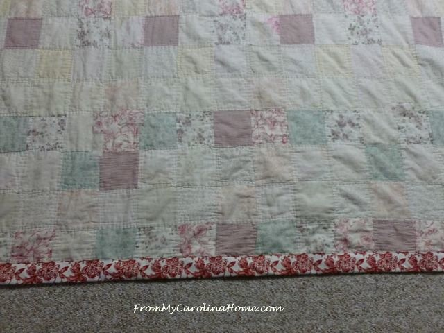 Antique Quilt Repair ~ From My Carolina Home