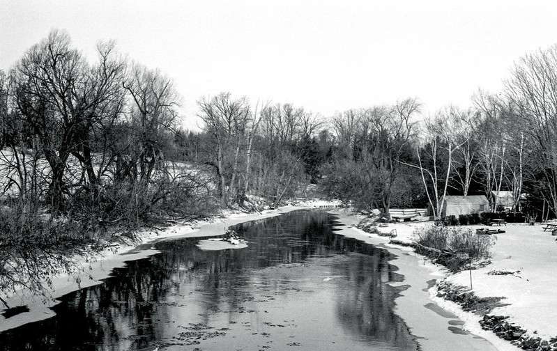 Credit River In Cheltanham_