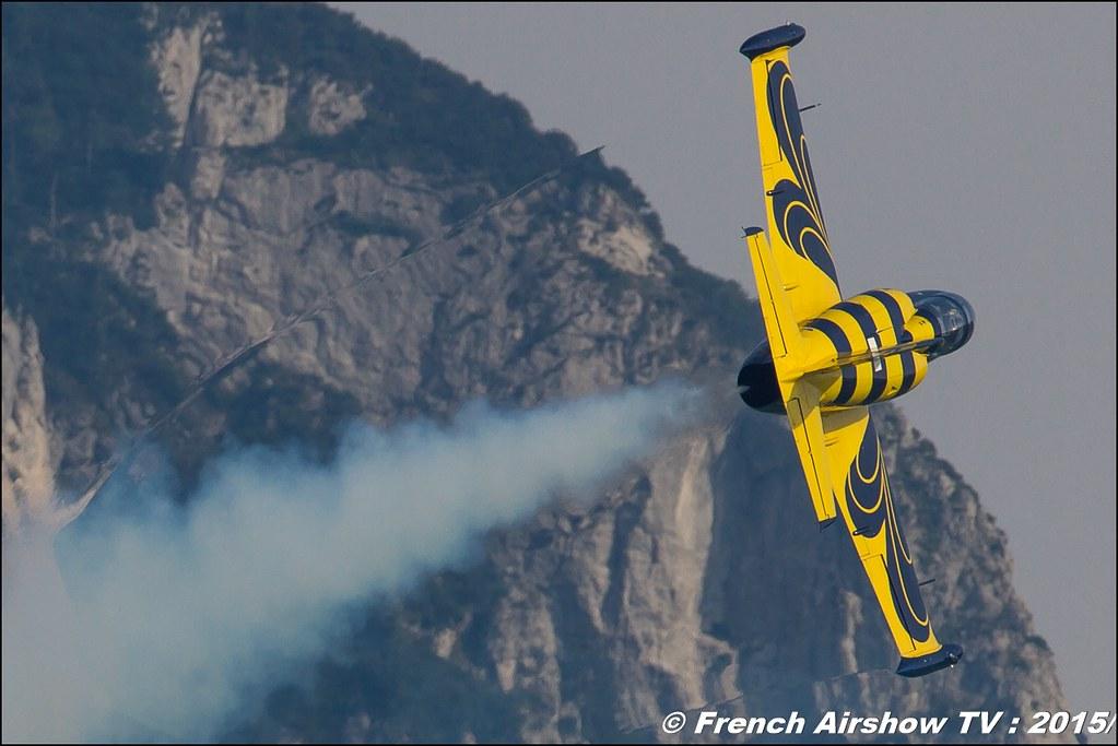 Baltic Bees aerobatic team , L-39 Albatros , Civilian jet display team, Sankt Wolfgang / St Wolfgang : Austria , scalaria air challenge 2015, Meeting Aerien 2015