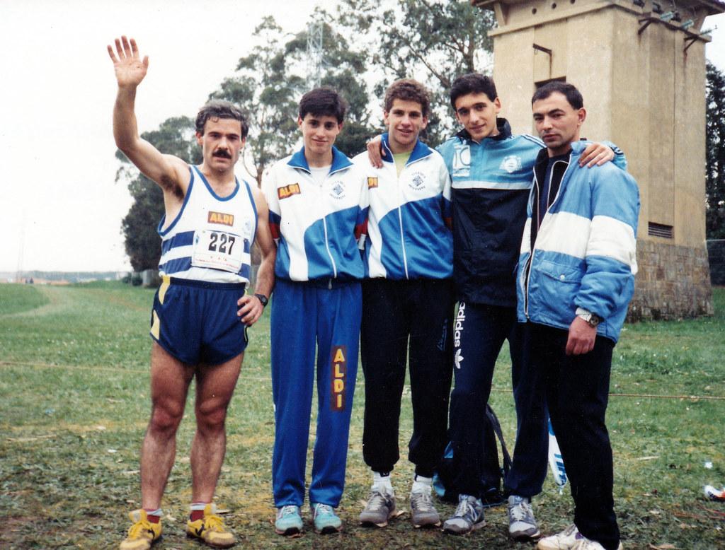 Campeonato de Asturias Junior de Campo a Través. 1990. Foto 033.