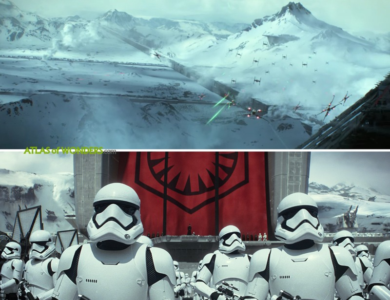 Star Wars The Force Awakens Shooting Locations