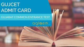 GUJCET Admit Card