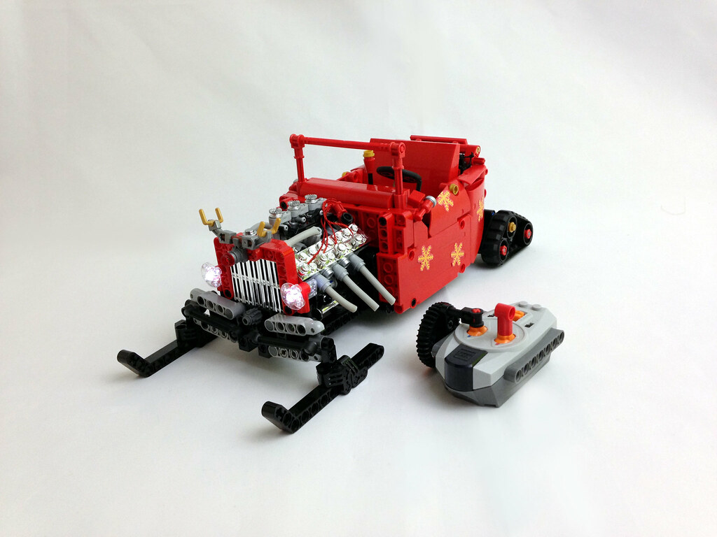 Santa 39 S Rod Lego Rc Moc This Is A Holiday Edition Of My