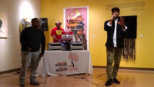 At the First Friday Event Including an Artist Networking Event