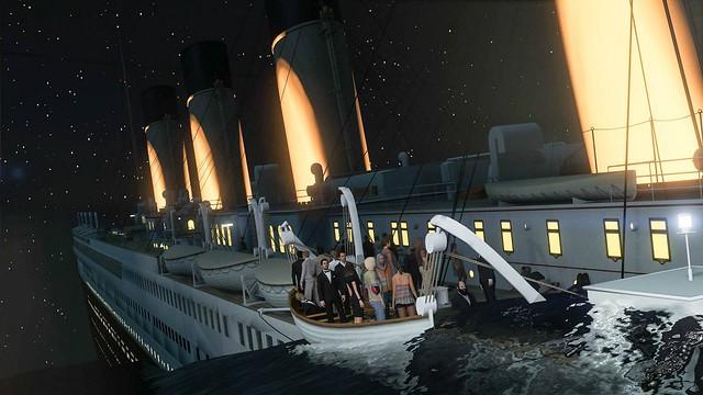GTA 5 - Титанік Mod