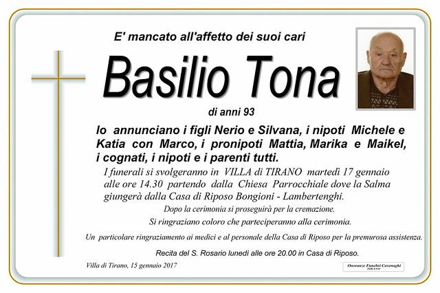 Tona Basilio