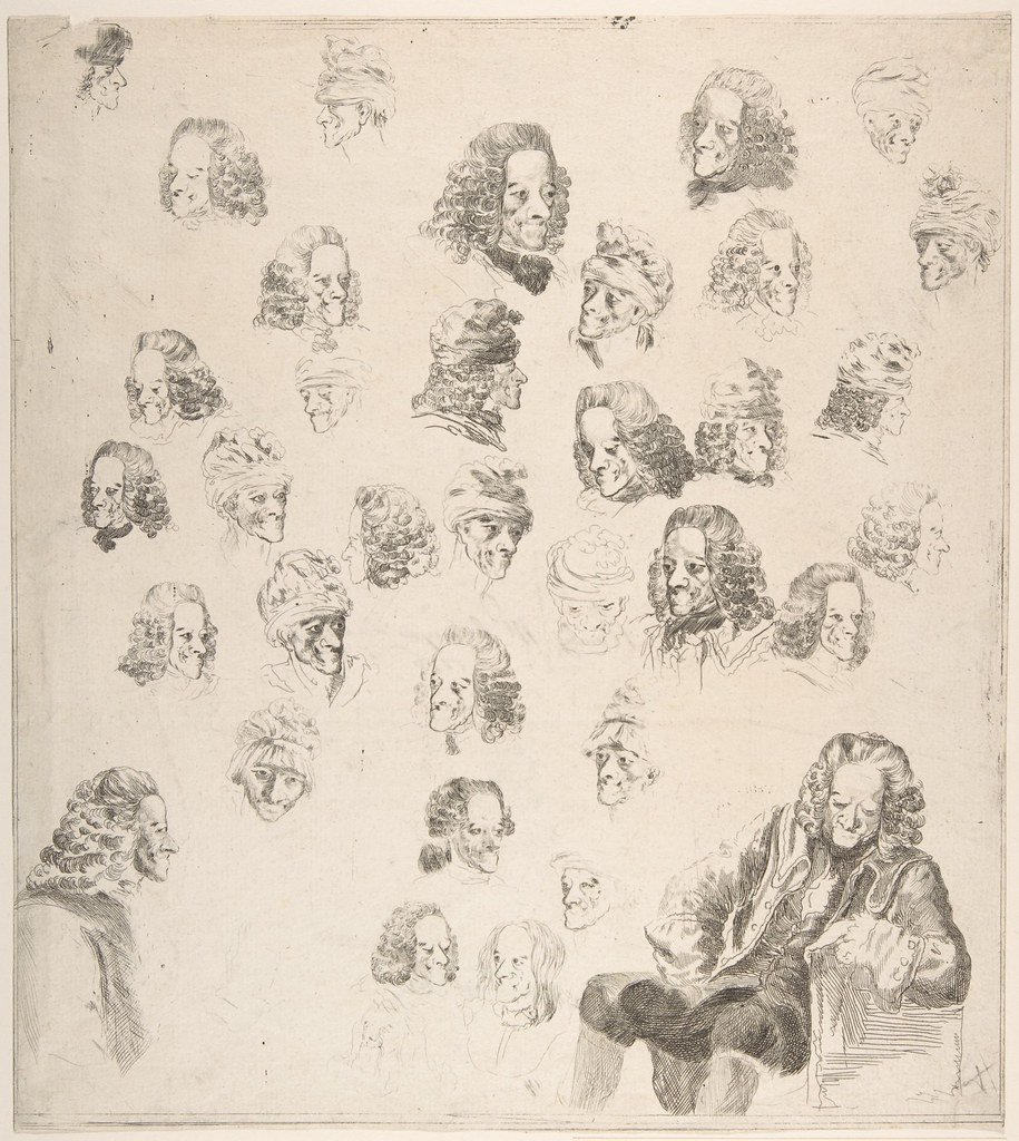 voltaire and the buddha the public review sketches of voltaire aged 81 by baron dominique vivant denon 1775 source