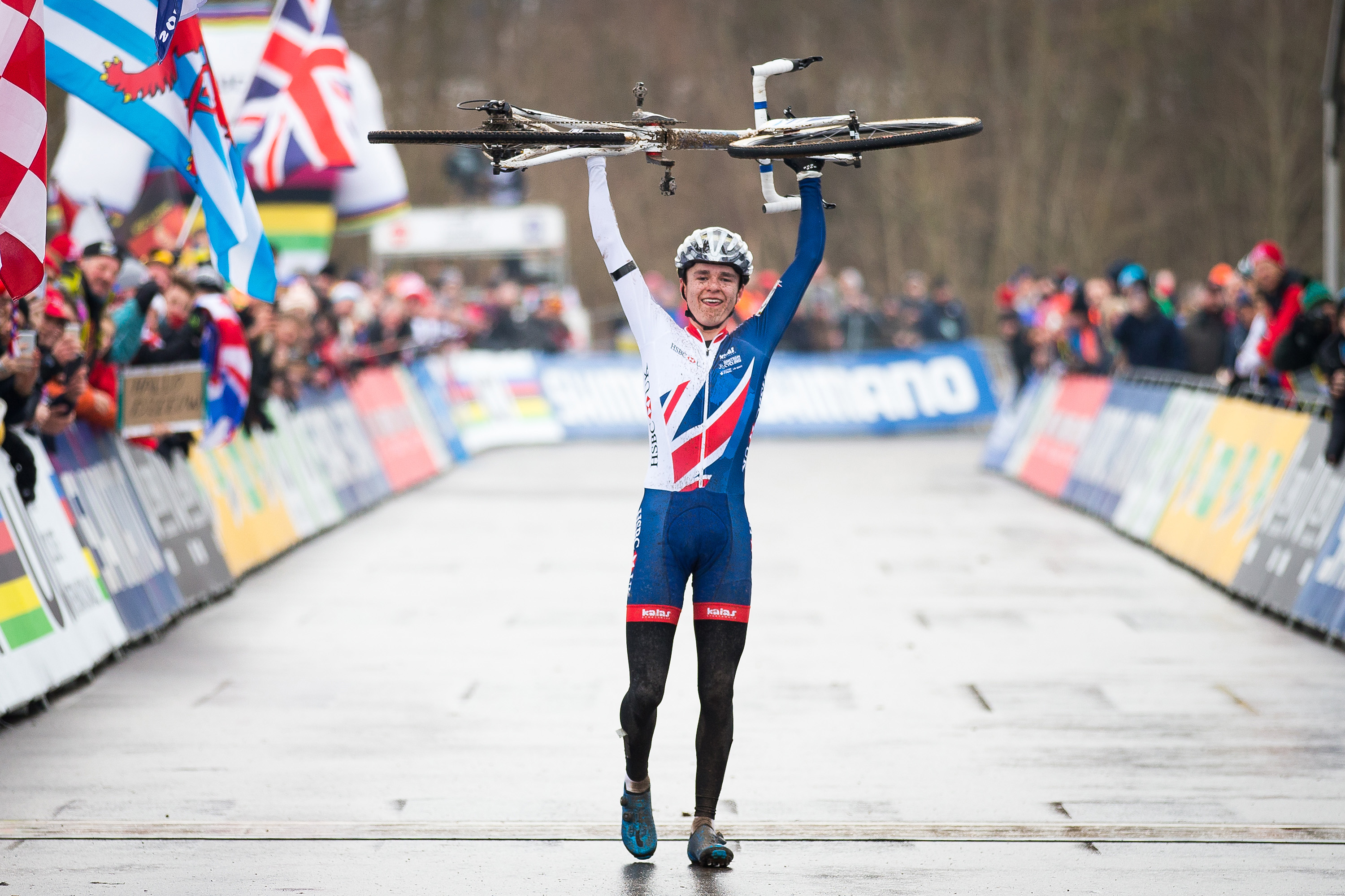 Great Britain Cycling Team at the 2017 UCI Cyclo-cross World Championships