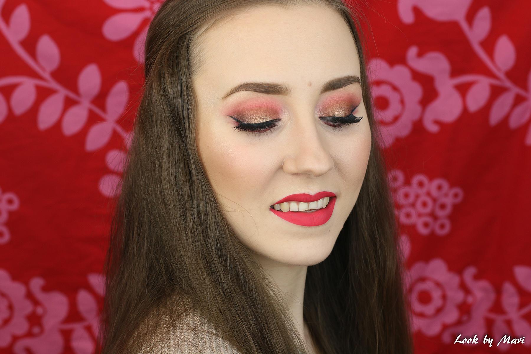 2 ystävänpäivä meikki ideoita ideat kevyt pehmeä ilta juhla meikki tutoriaali essence meikit kokemuksia kasvoilla hyvät